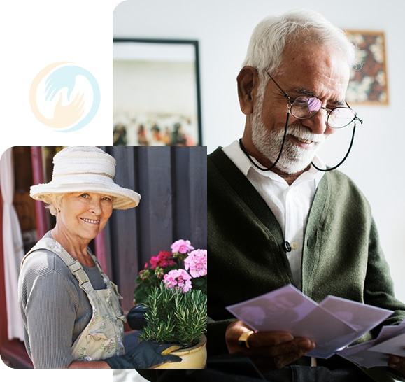 Elderly people at home